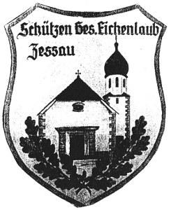 Vereinsabzeichen der Schützengesellschaft Eichenlaub